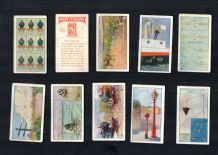 Contactable Tobacco cigarette cards What it means by Scissors 1916